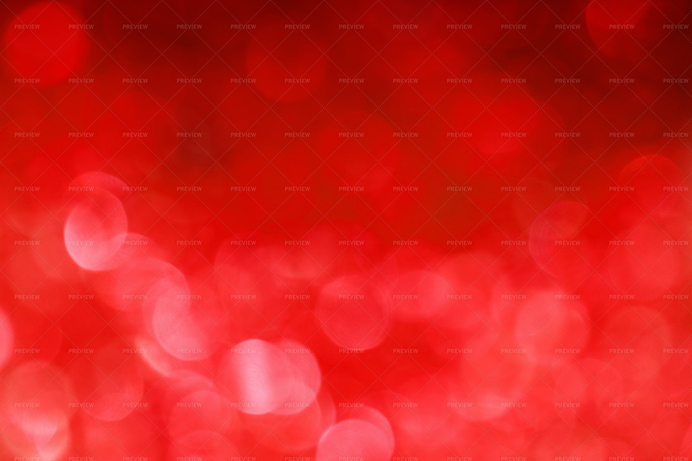 Red Bokeh Lights Abstract Background: Stock Photos