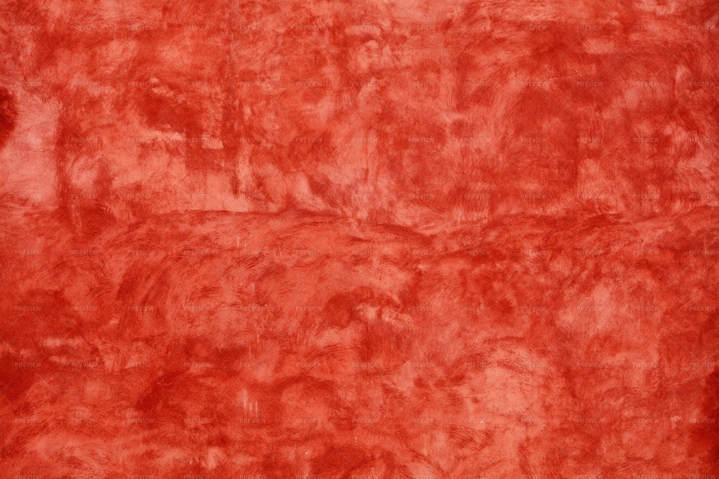 Grunge Red Painted Plaster Wall: Stock Photos