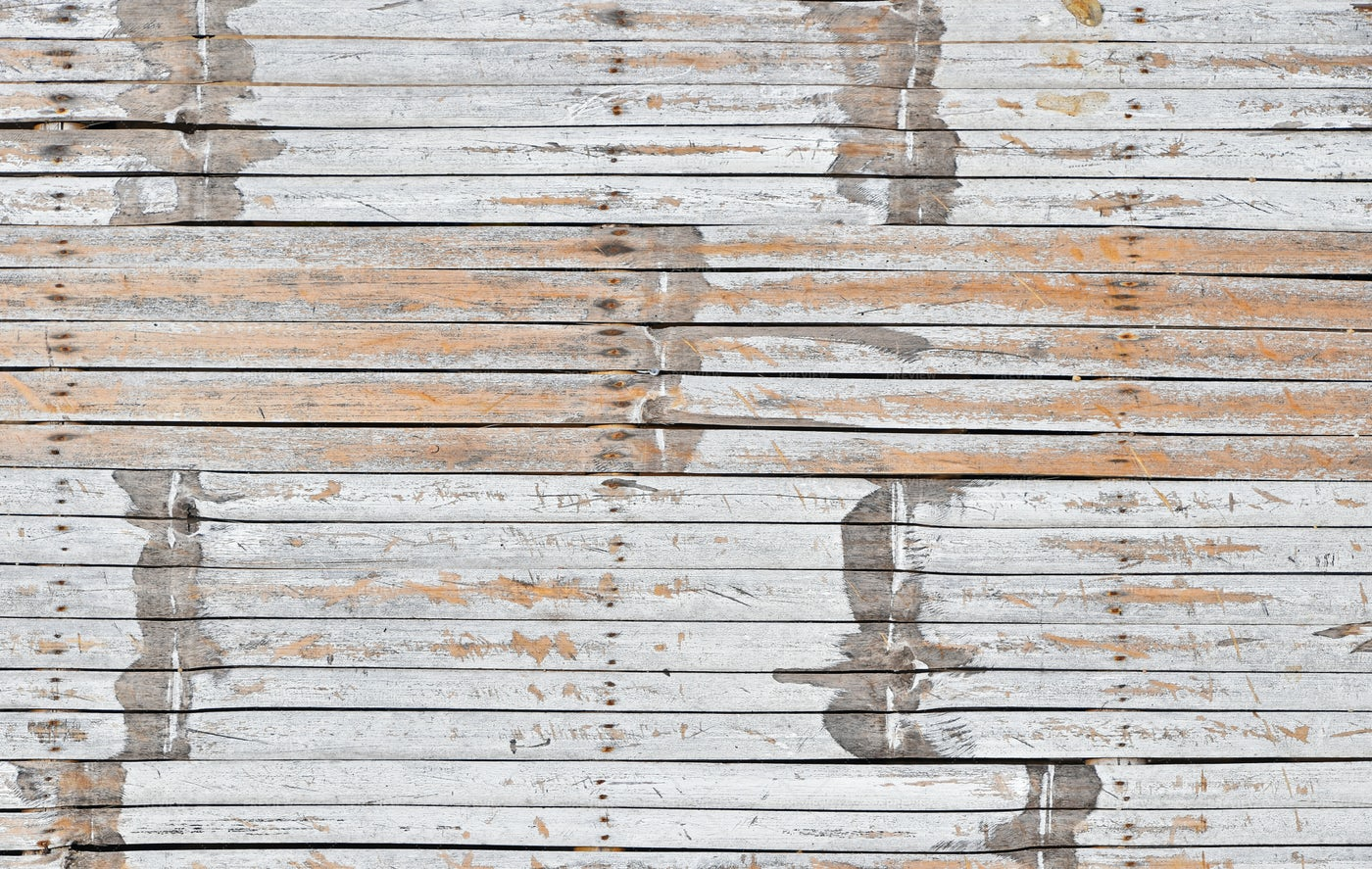 Weathered White Bamboo Wood: Stock Photos