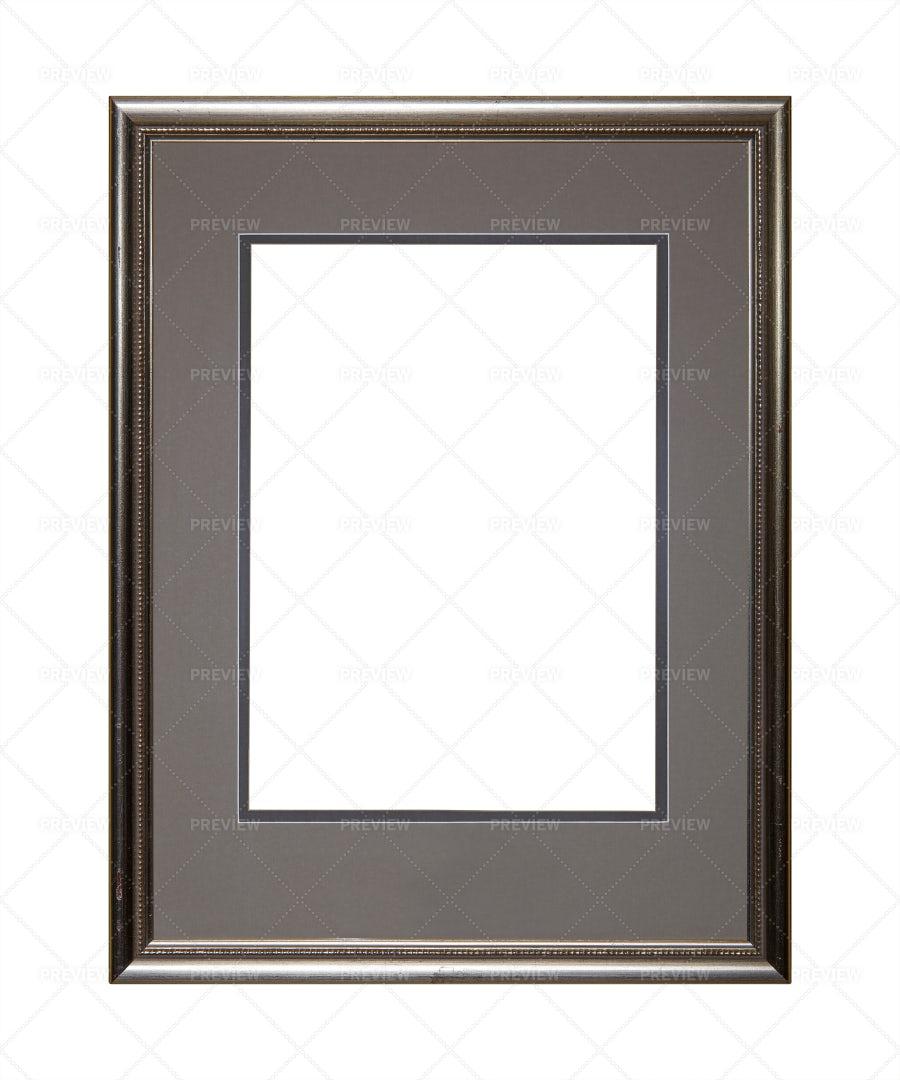 Silver Photo Frame: Stock Photos