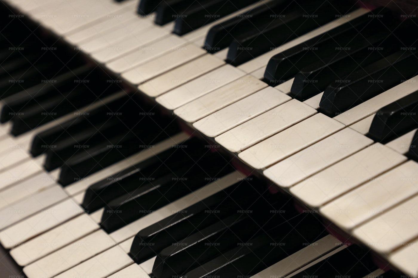 Double Keyboard Keys: Stock Photos