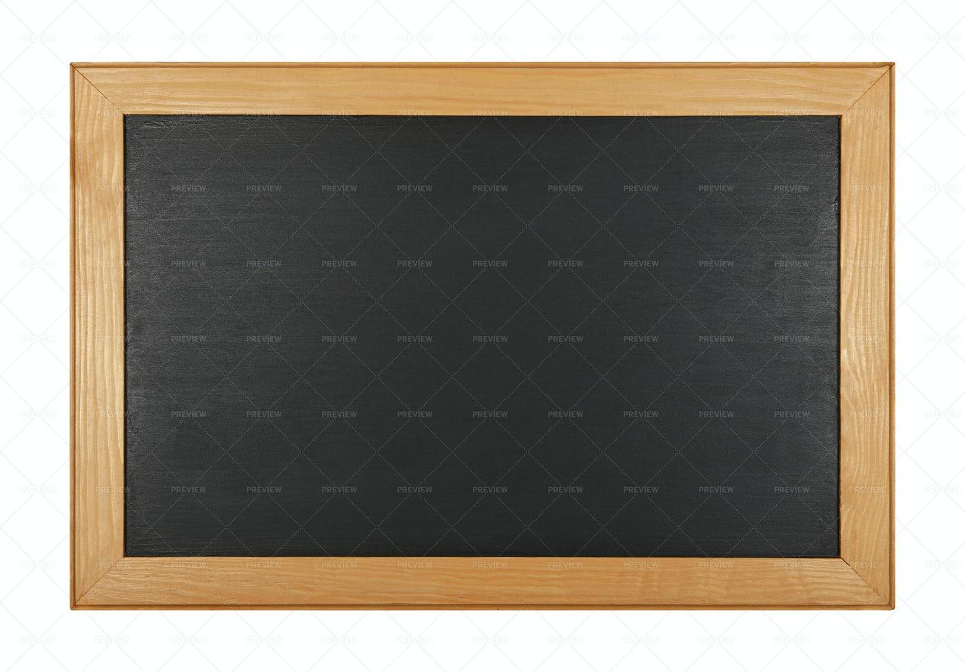 Black School Chalkboard: Stock Photos