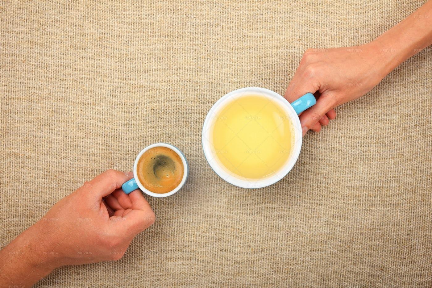 Coffee And Tea: Stock Photos