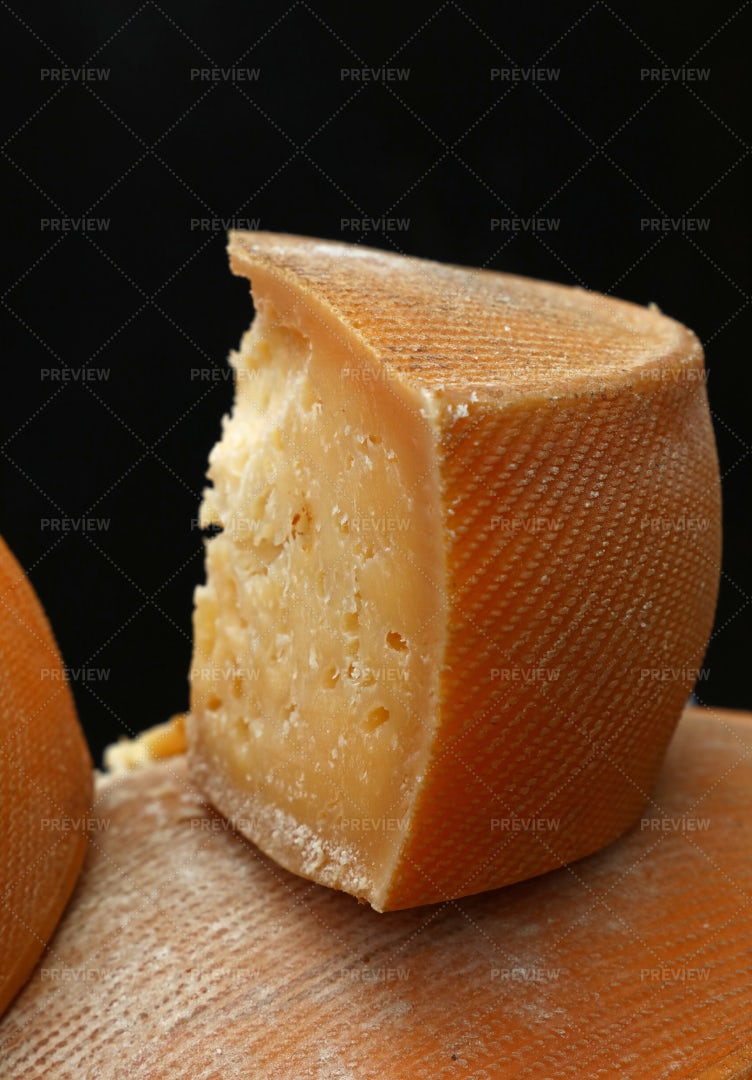 Block Of Aged Cheese: Stock Photos