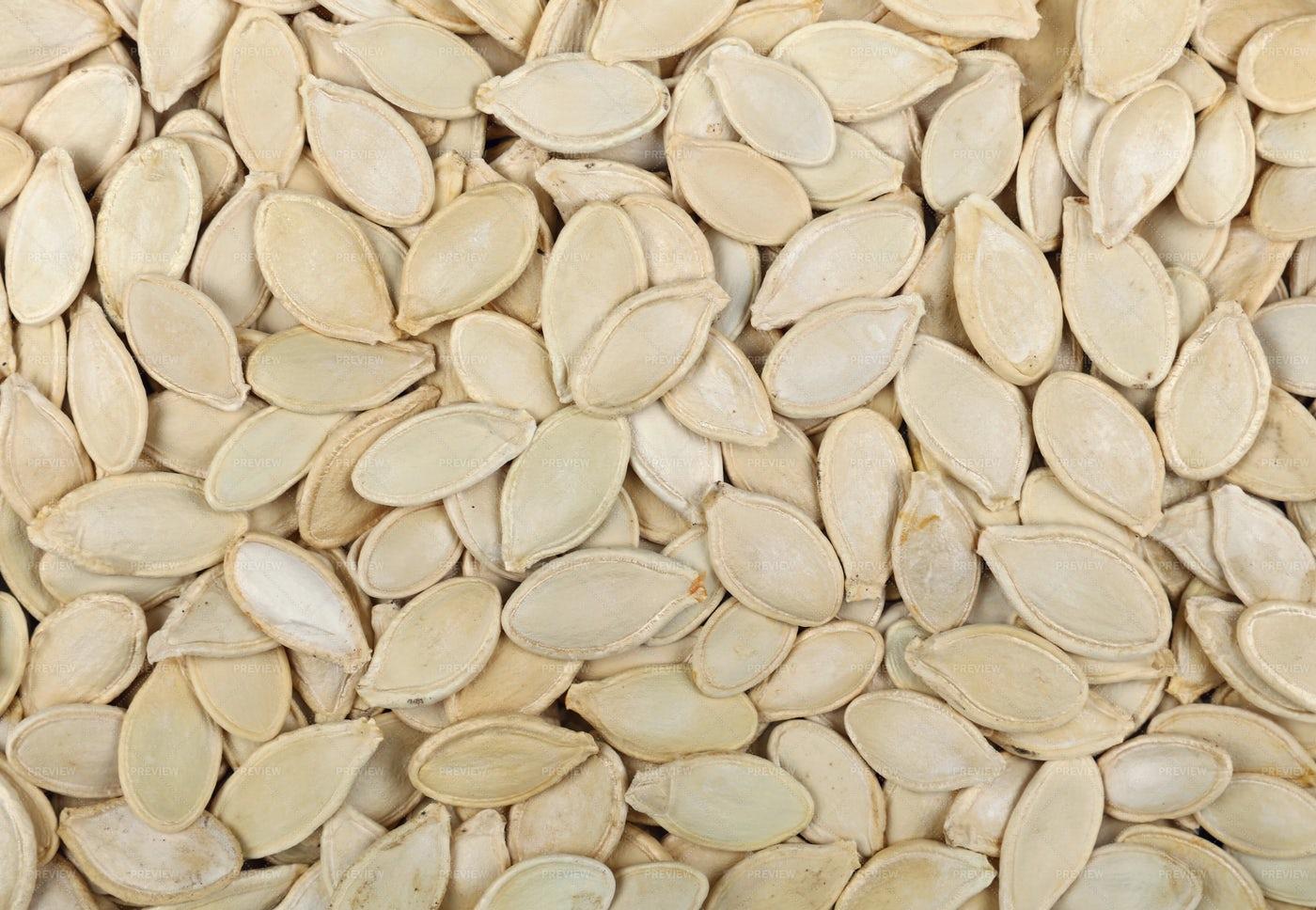 Raw Pumpkin Seeds: Stock Photos