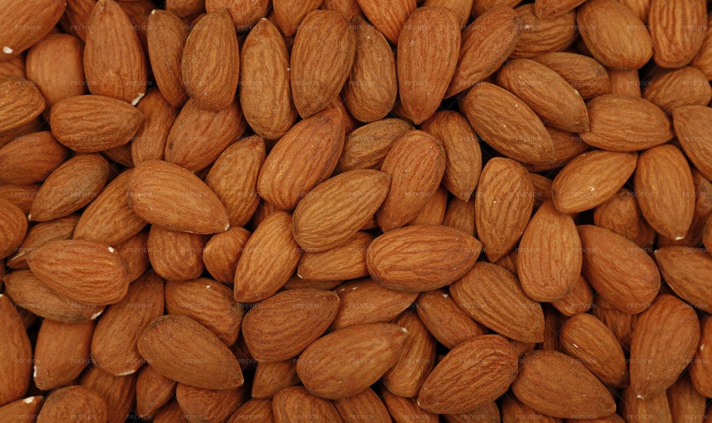 Raw Almond Nuts: Stock Photos