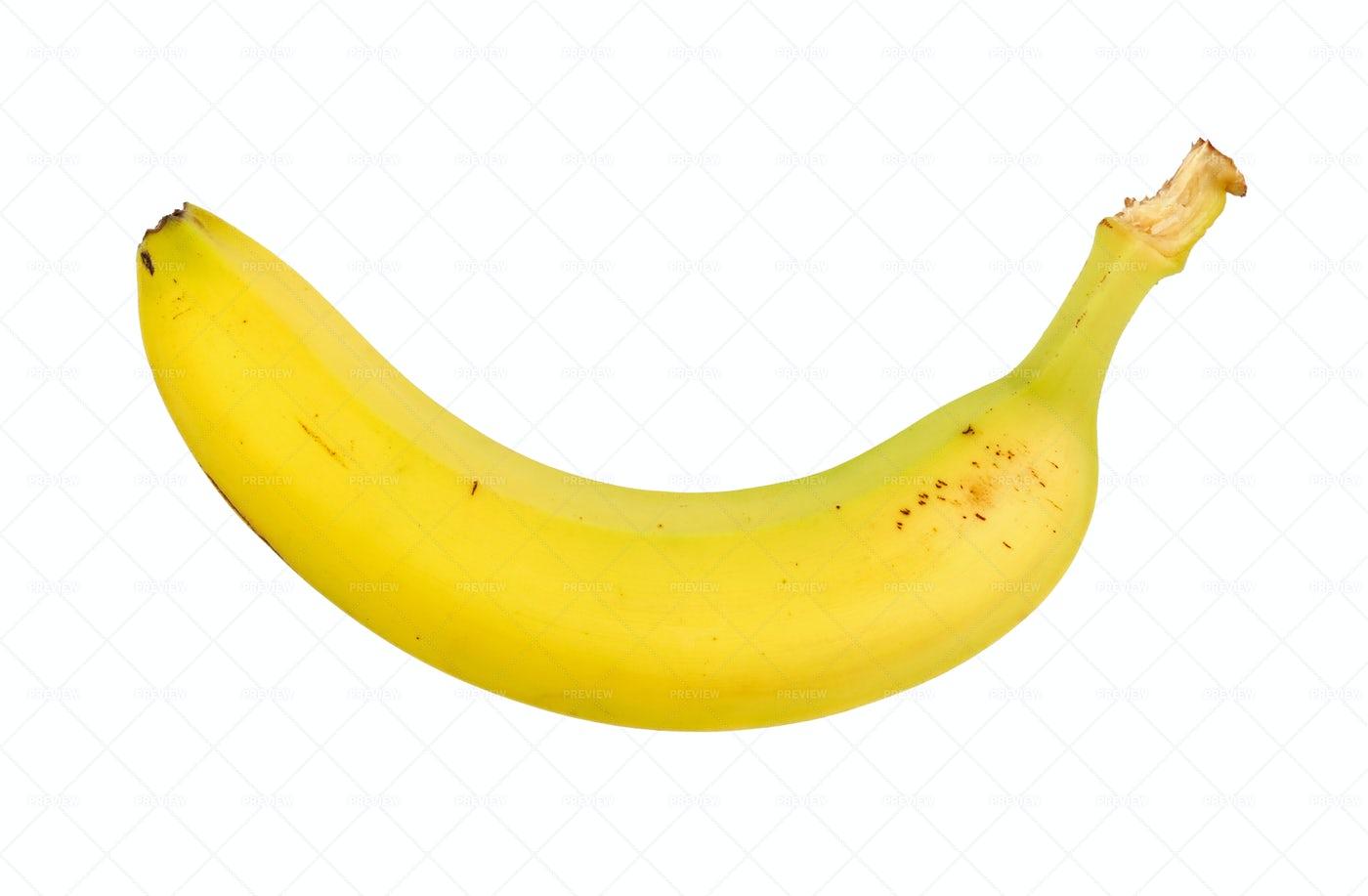A Single Banana: Stock Photos