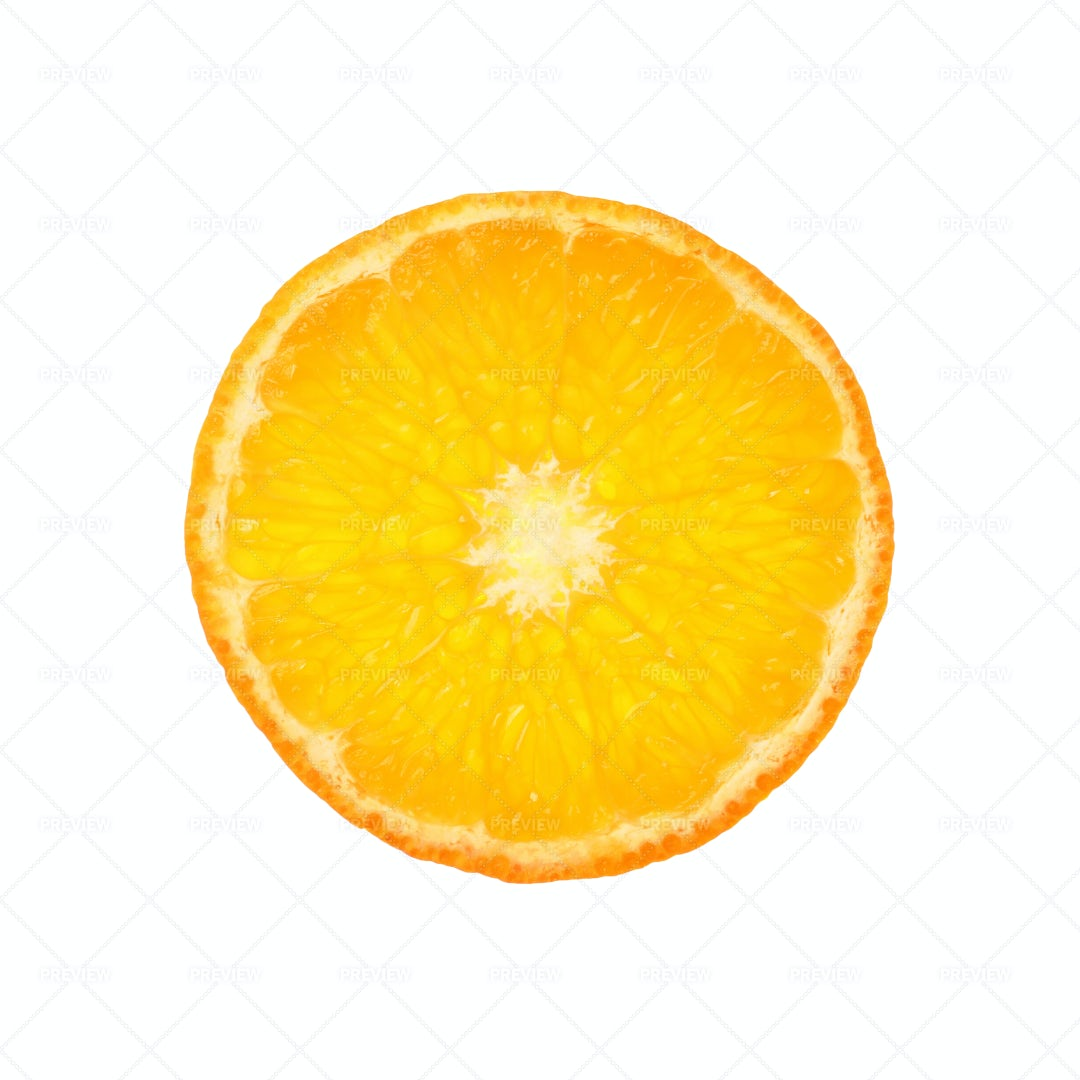 A Slice Of Orange: Stock Photos