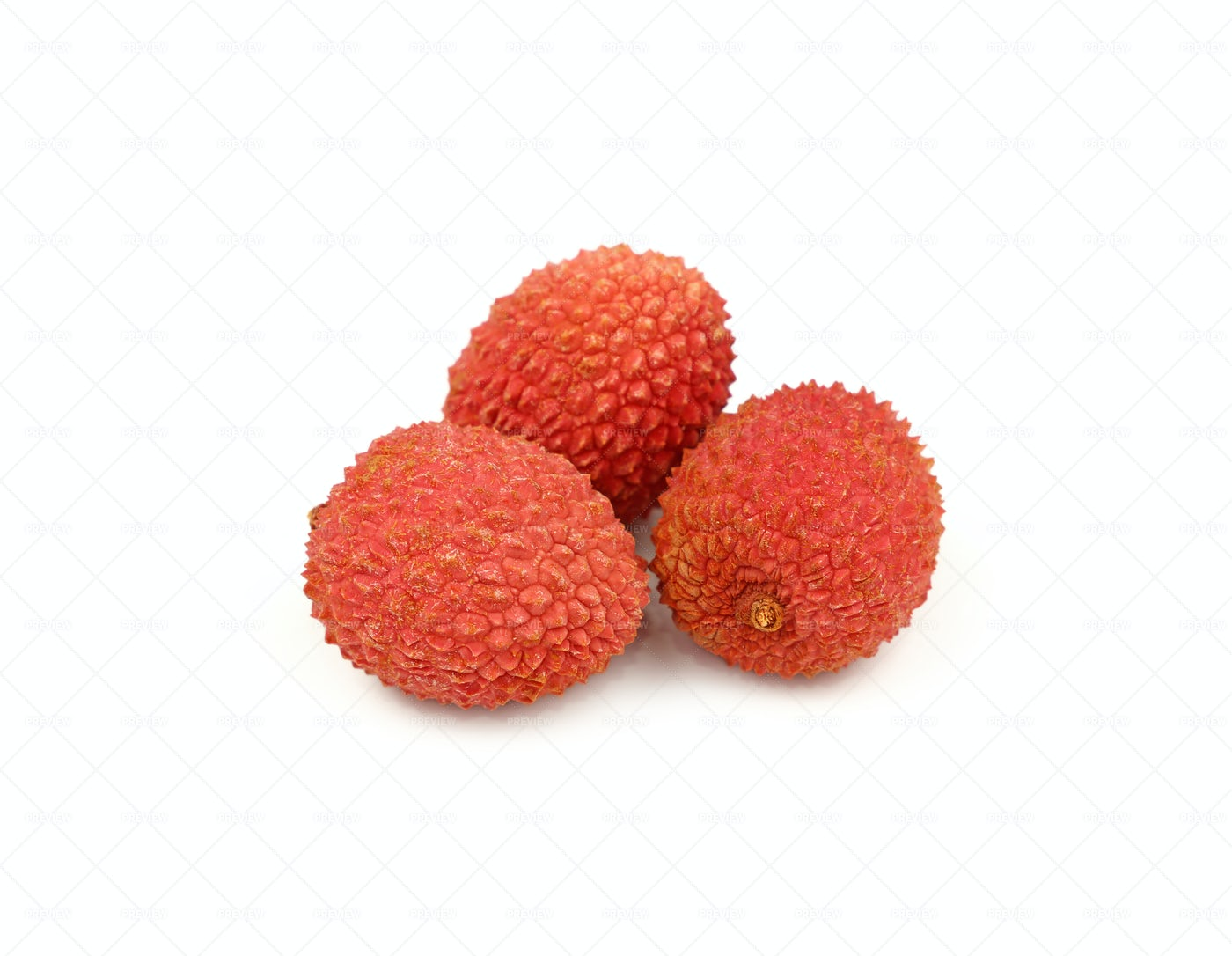 Red Lychees: Stock Photos