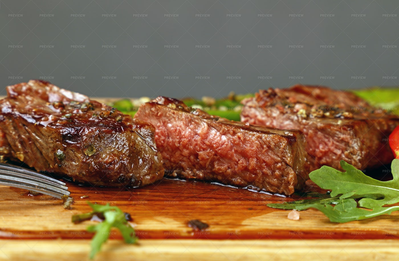 Grilled Beefsteak: Stock Photos