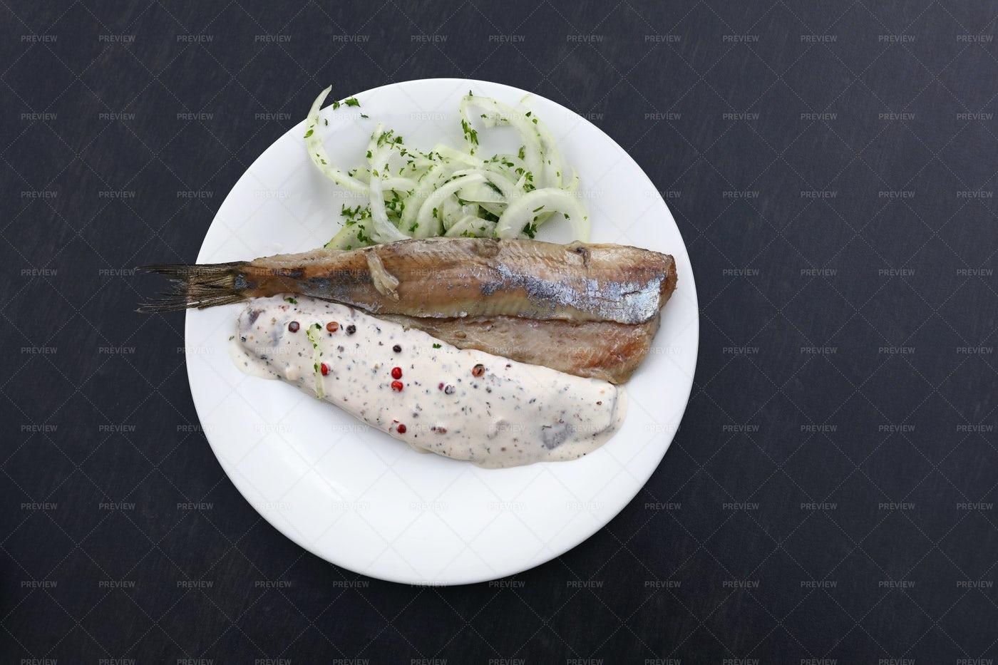 Herring Fish Fillets: Stock Photos