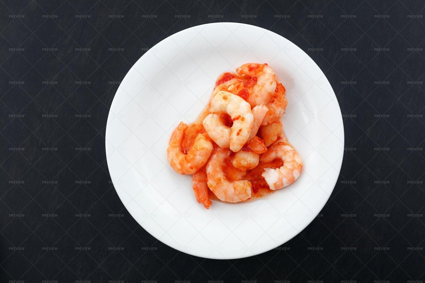 Portion Of Shrimp: Stock Photos