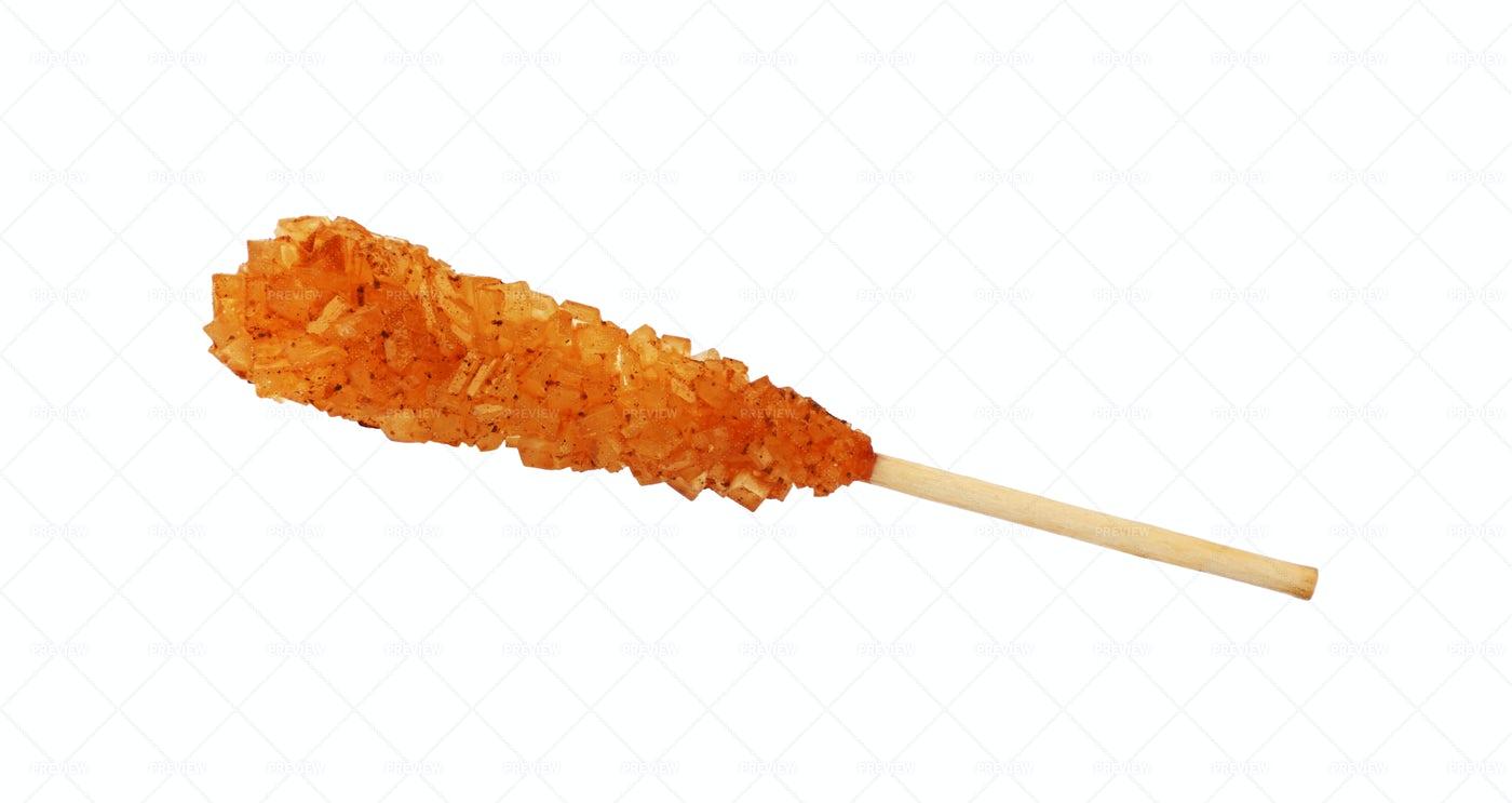Stick Of Brown Sugar: Stock Photos