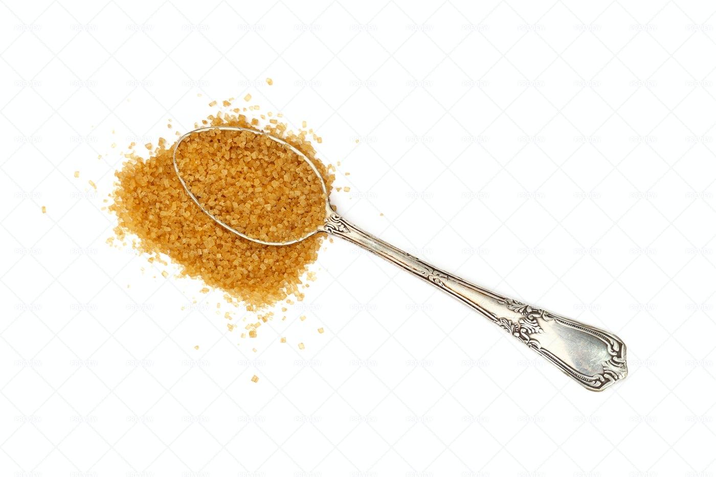 Teaspoon Of Brown Sugar: Stock Photos