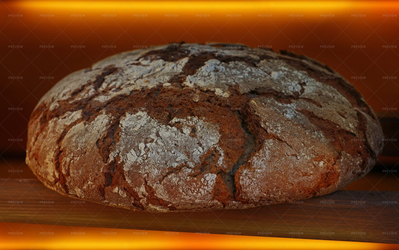 Loaf Of Brown Bread: Stock Photos