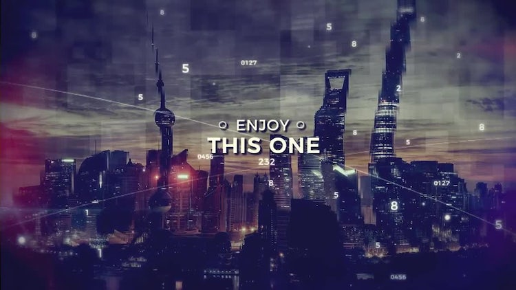 Cinematic Digital Slideshow: After Effects Templates