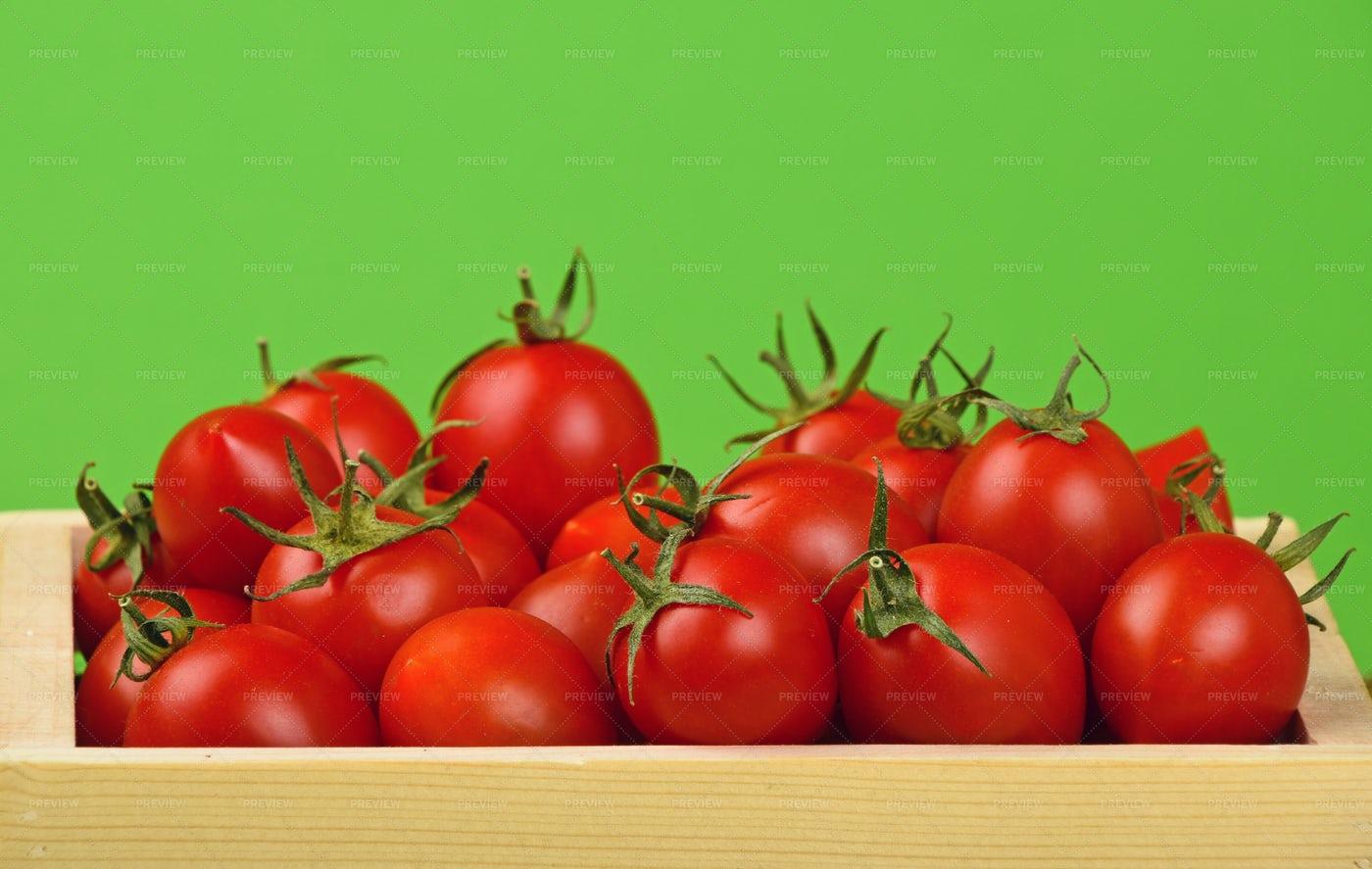 Tomatoes Box: Stock Photos