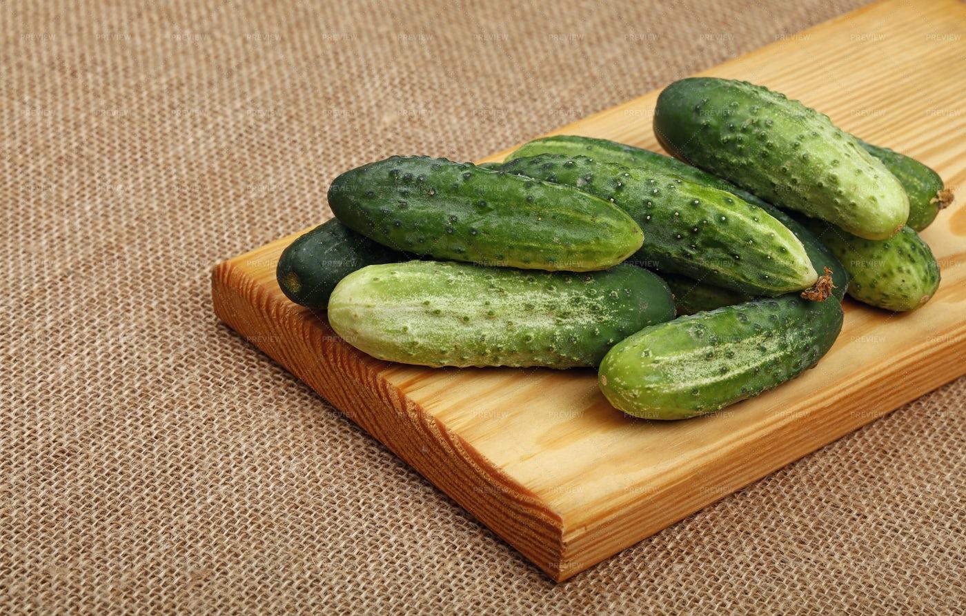 Cucumbers: Stock Photos