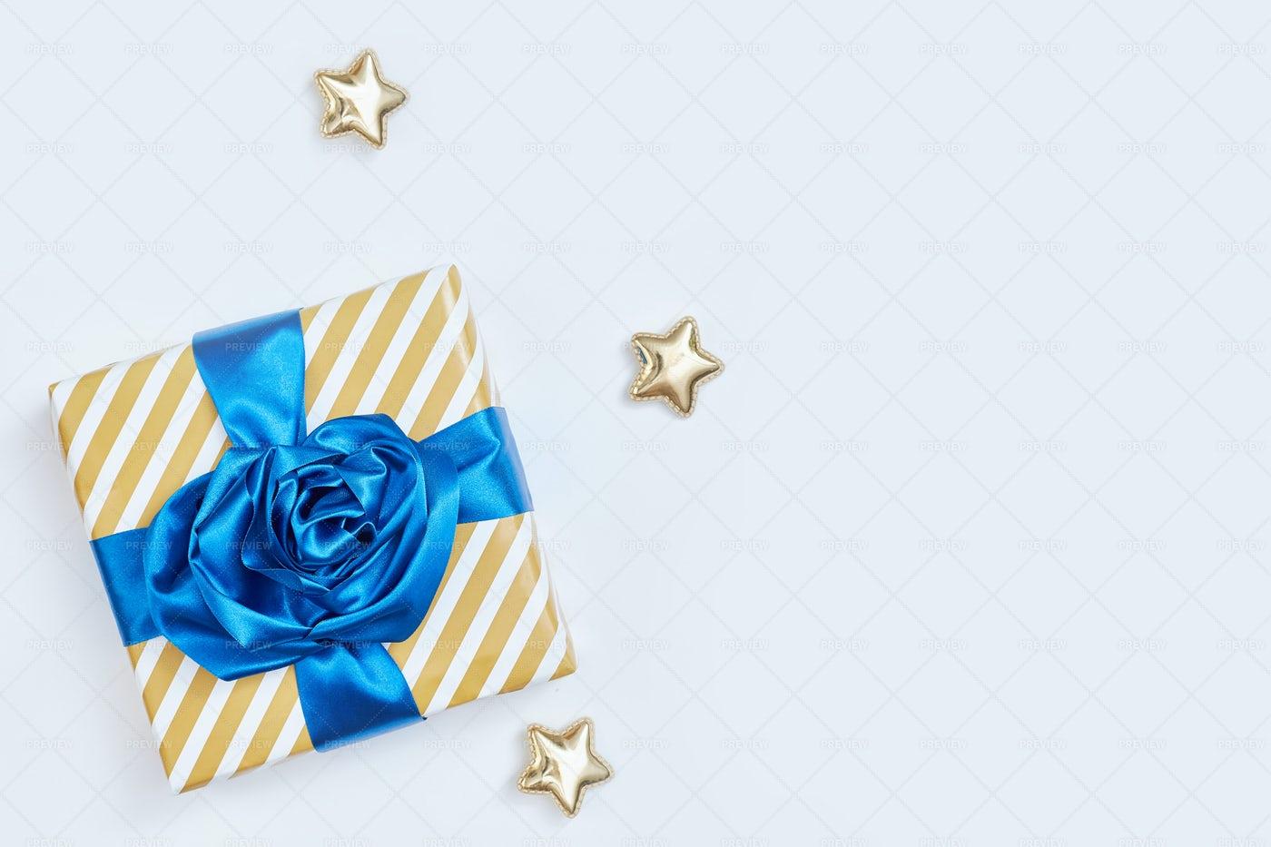 A Fancy Gift Box: Stock Photos
