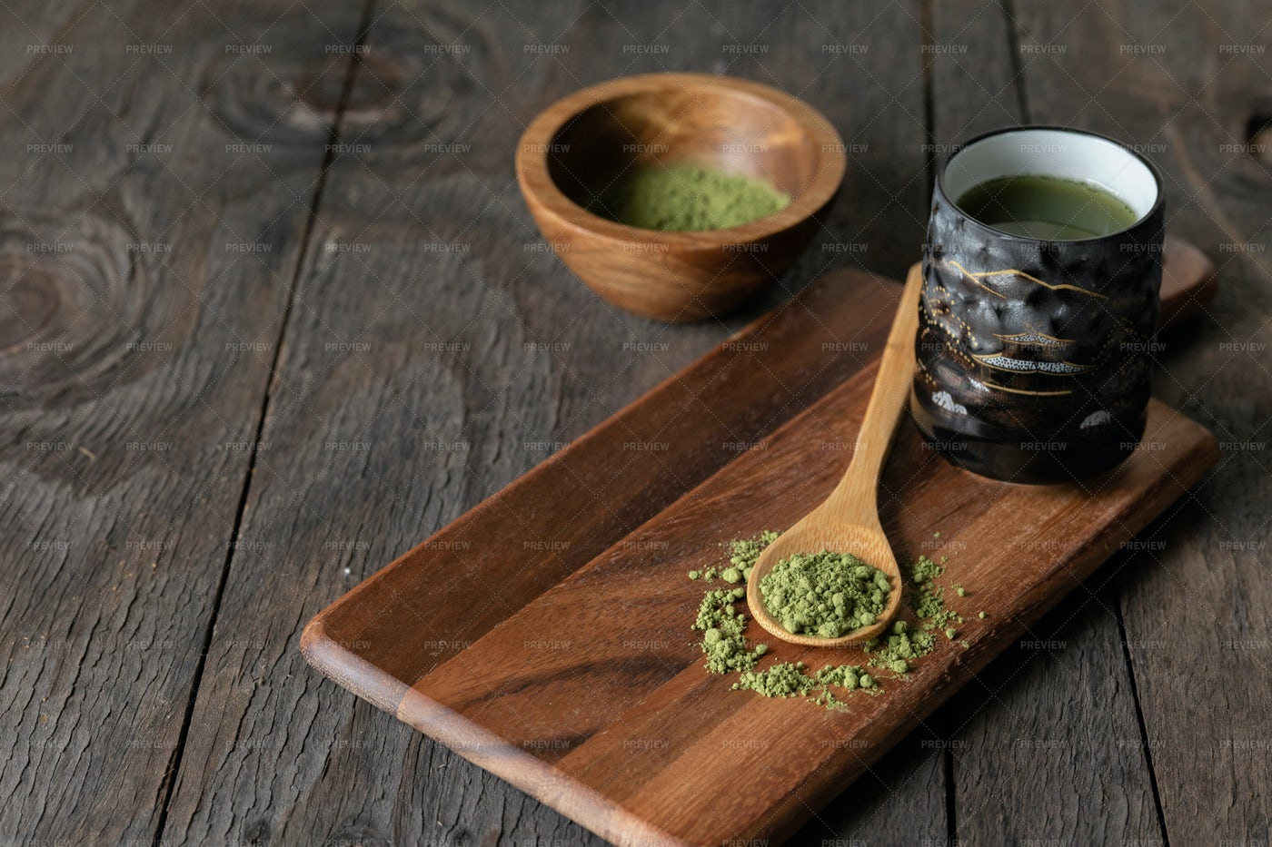 Matcha Green Tea: Stock Photos