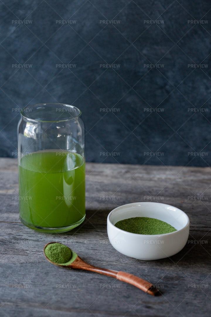Chlorella Algae: Stock Photos