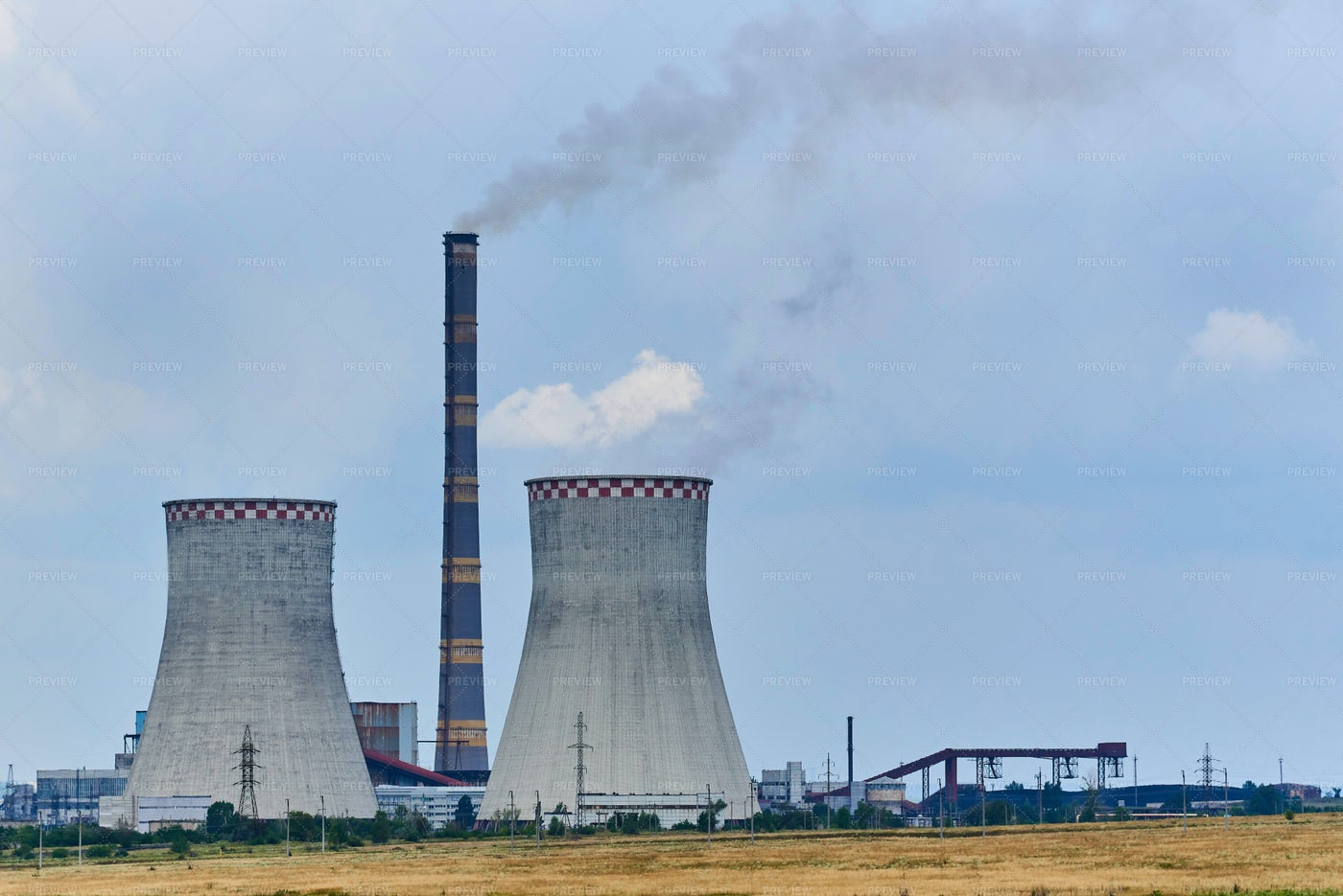 Thermal Power Plant: Stock Photos