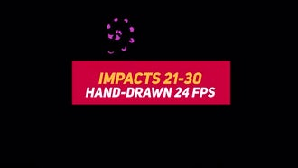 Liquid Elements Impacts 21-30: Motion Graphics