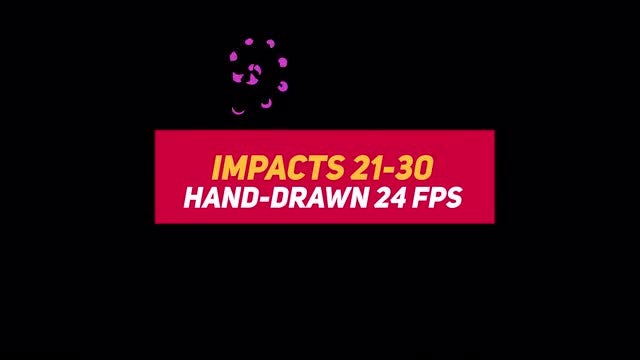 Liquid Elements Impacts 21-30: Stock Motion Graphics