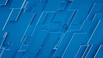 Blue Panels: Motion Graphics