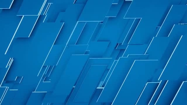 Blue Panels: Stock Motion Graphics