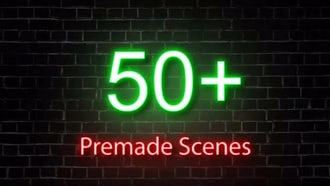 Neon Lights Big Pack: Motion Graphics Templates