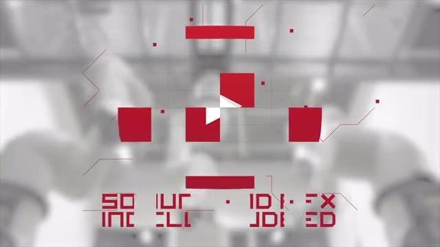 Mechanical Logo: Premiere Pro Templates