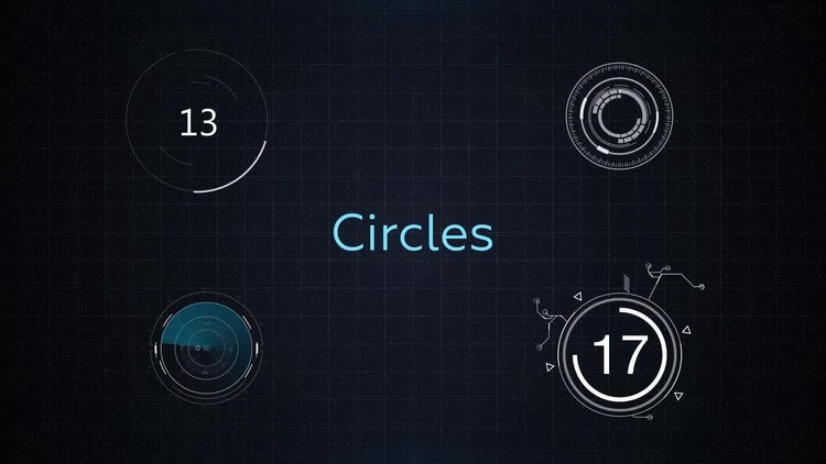 HUD Elements Pack: Motion Graphics