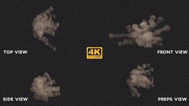 Dust Waves: Stock Motion Graphics