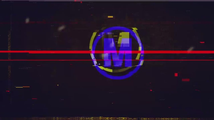 Quick Glitch Logo: After Effects Templates
