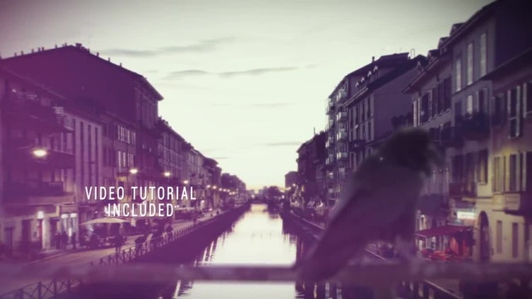 3D Photo Slideshow: After Effects Templates