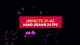 Liquid Elements Impacts 31-40: Motion Graphics