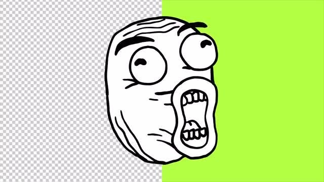 Animated Meme Faces: Stock Motion Graphics