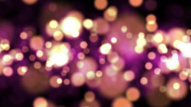 Romantic Bokeh Background: Stock Motion Graphics