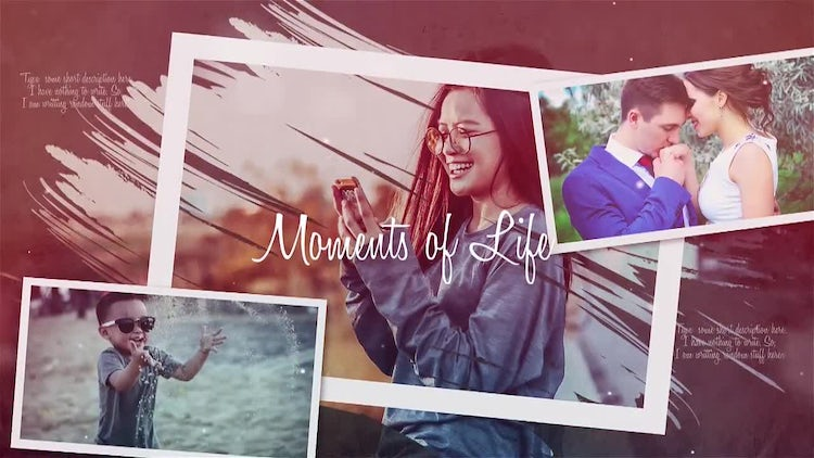 Moments of Life: Premiere Pro Templates
