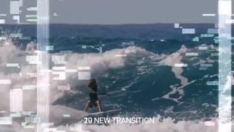 Glitch Transitions: Motion Graphics