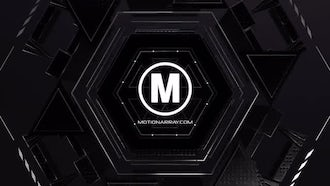 Logo Machine Reveal V1: After Effects Templates
