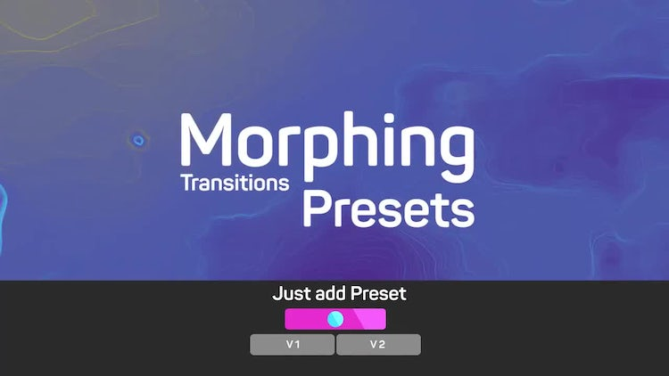 Morphing Transitions Presets: Premiere Pro Presets