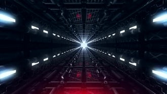 Futuristic Tunnel: Motion Graphics