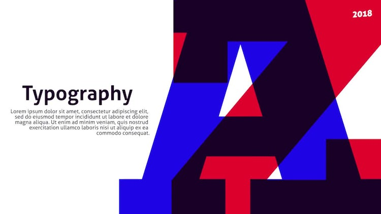 20 Modern Typography Slides: Premiere Pro Templates