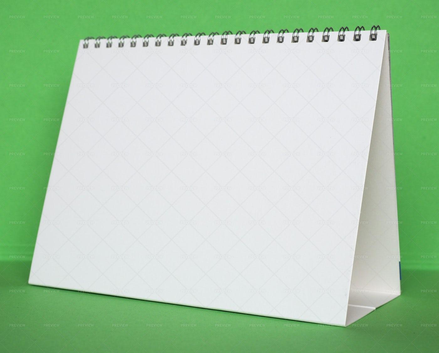 Blank Calendar Page: Stock Photos