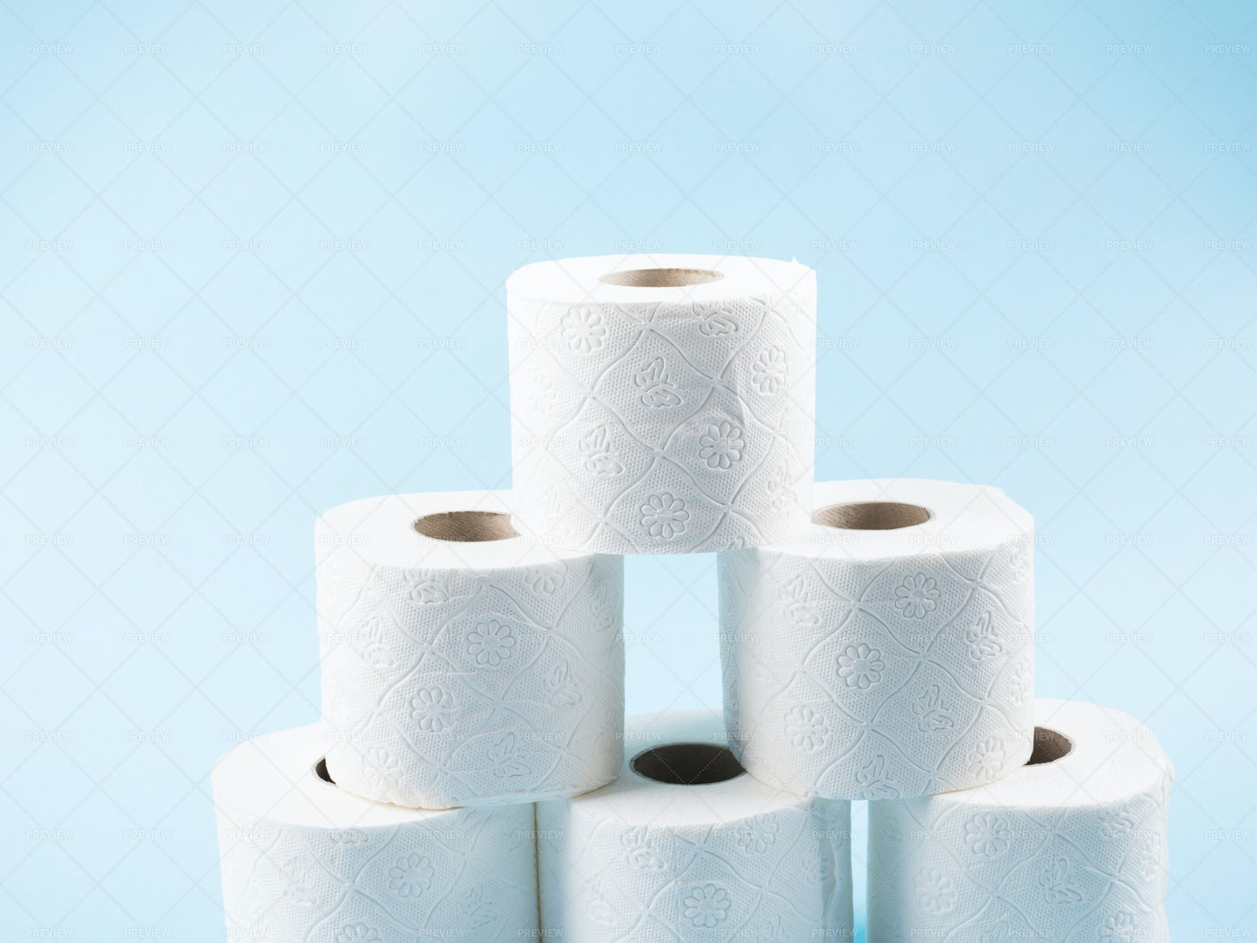 Toilet Paper Stack: Stock Photos