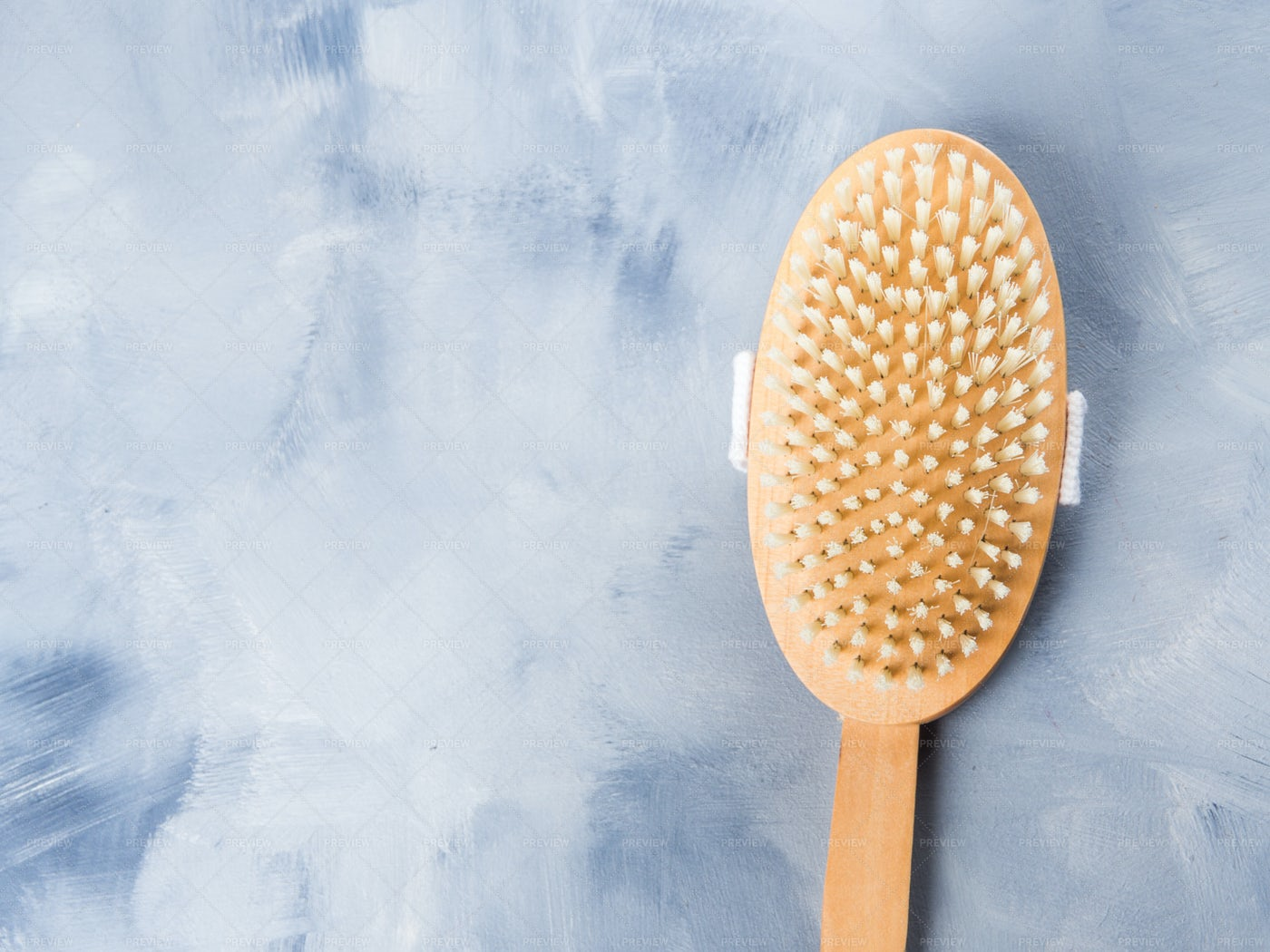 Wooden Massage Brush: Stock Photos