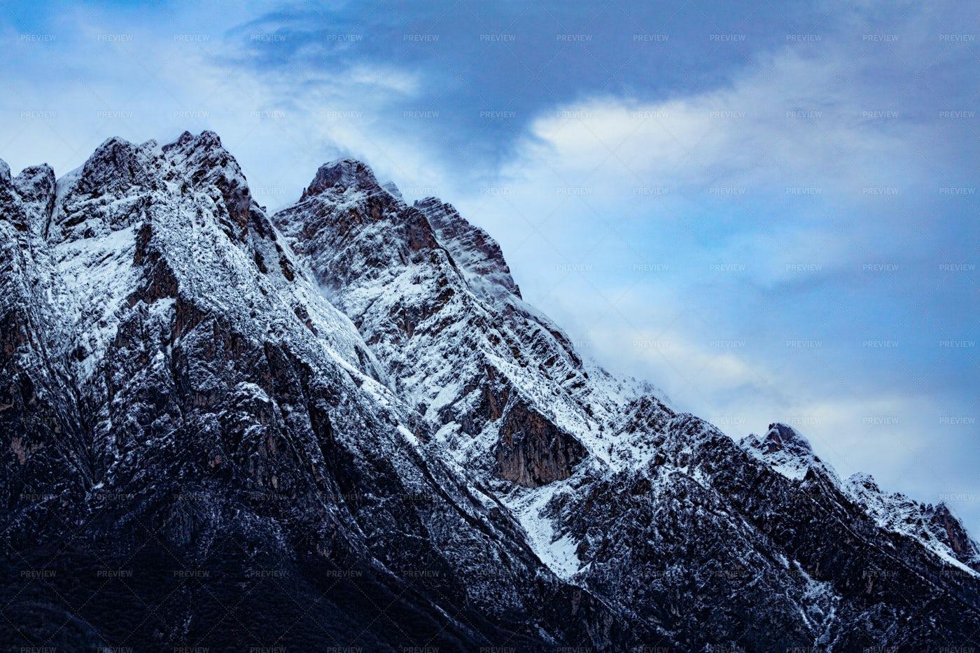 The Dolomite Mountains: Stock Photos