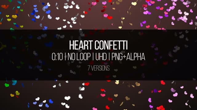 Confetti: Stock Motion Graphics
